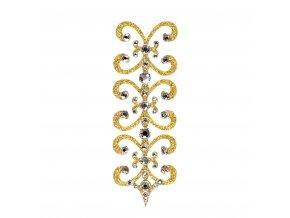 Florence 1 Gold Crystal kaminky