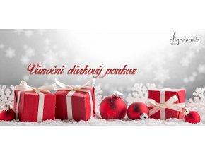 Vánoční dárková poukázka Oligodermie s kontakty na váš salon