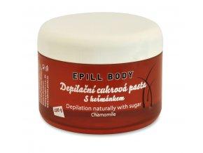 Epill Body Depilační cukrová pasta heřmánek 400 g