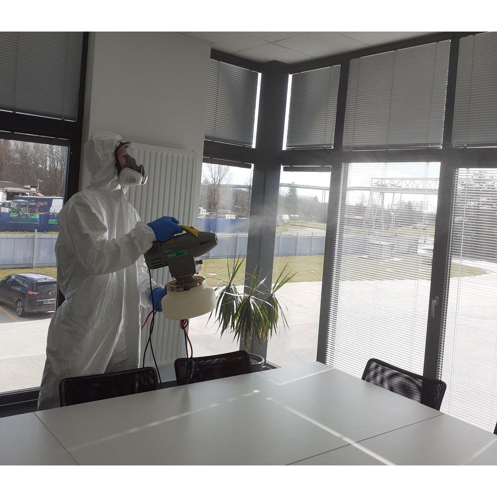 Derasluzby dezinfekce