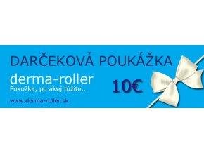 Darčeková poukážka 10 EUR