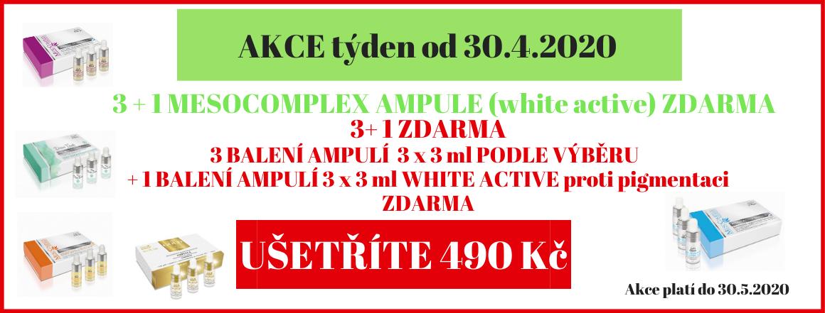 Mesocomplex ampule 3 + 1