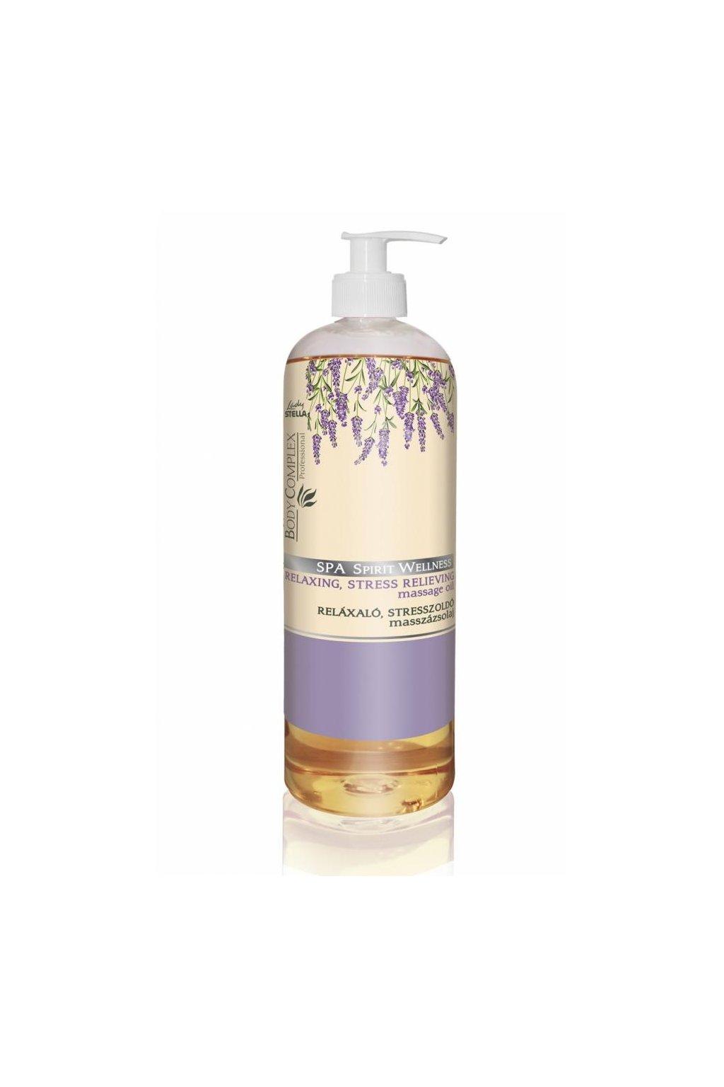 SPA SPIRIT WELLNESS relaxační masážní olej s levandulí