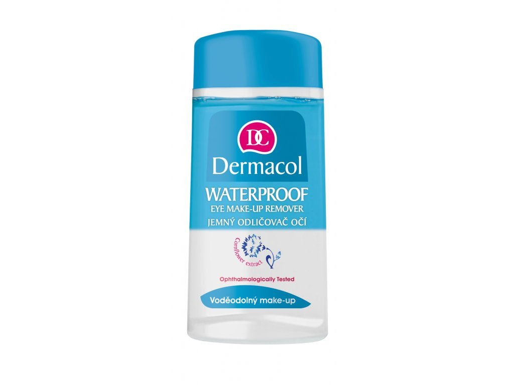 Waterproof eye make-up remover