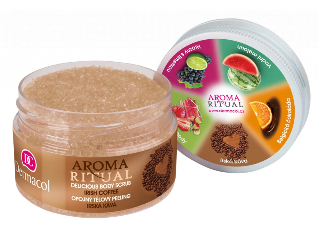 AROMA RITUAL BODY SCRUB IRISH COFFEE