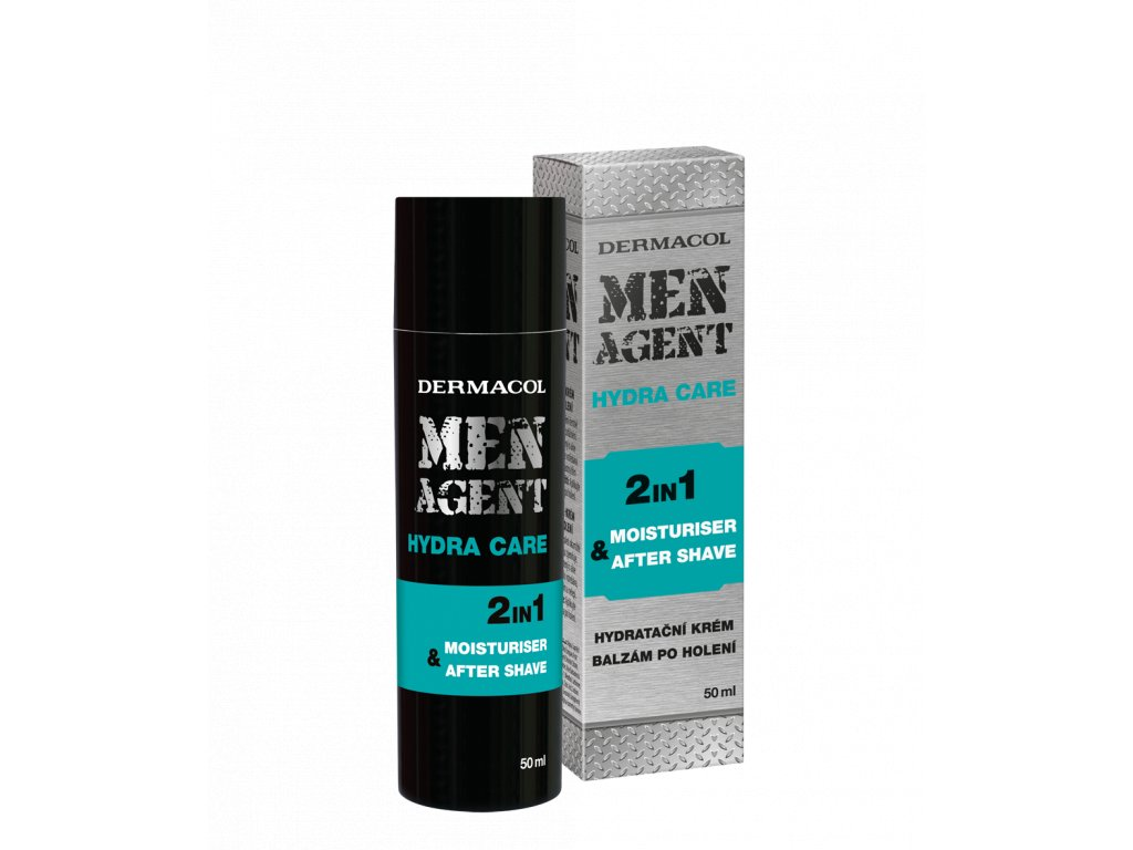 MEN AGENT Moisturizing gel-cream and aftershave balm