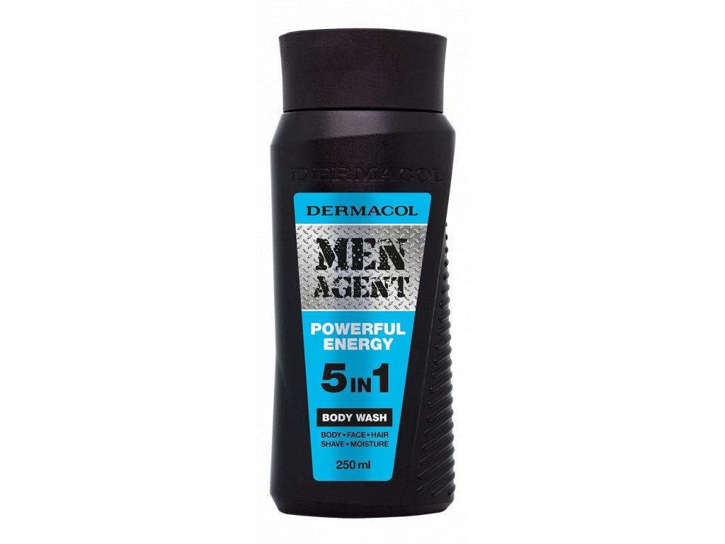 Men agent shower gel powerful energy