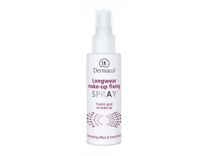 Longwear make-up fixing spray