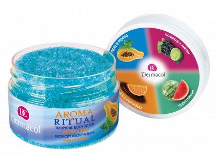 Aroma ritual tropical body scrub papaya & mint