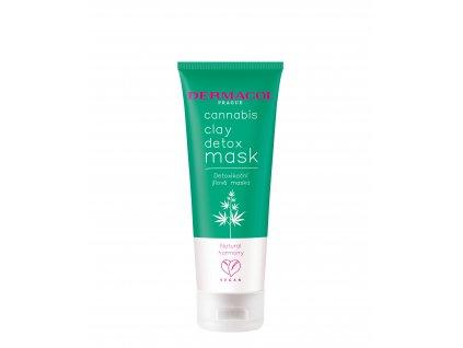 Cannabis clay detox mask