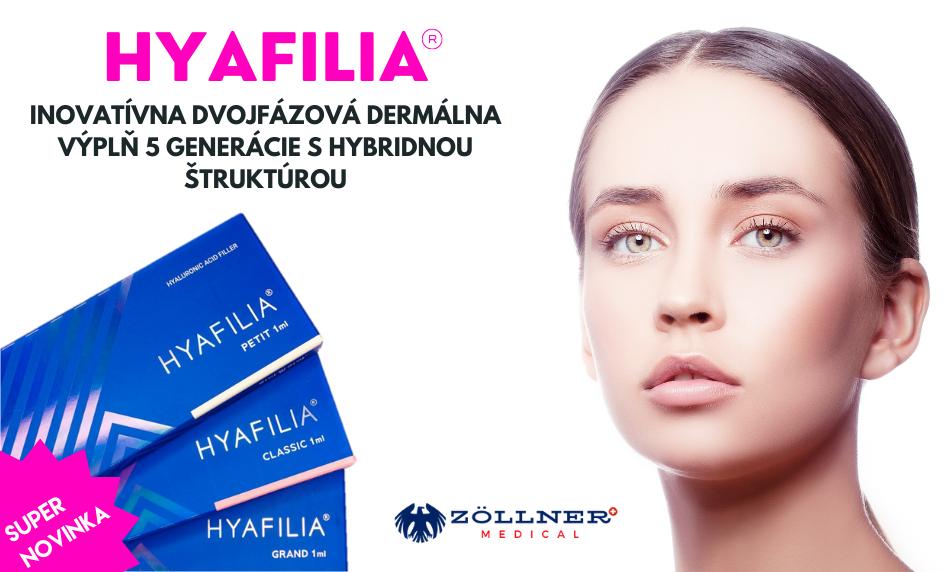 HYAFILIA dermálna výplň novej generácie