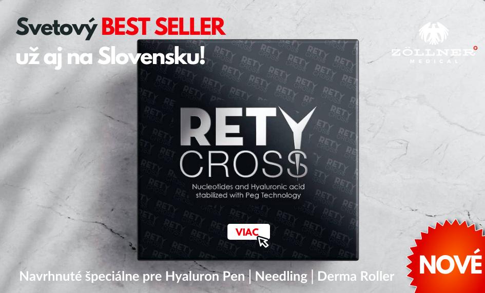 Retycross - Best Seller pre Hyaluron Perá│Zöllner Medical│DermalneVyplne.sk
