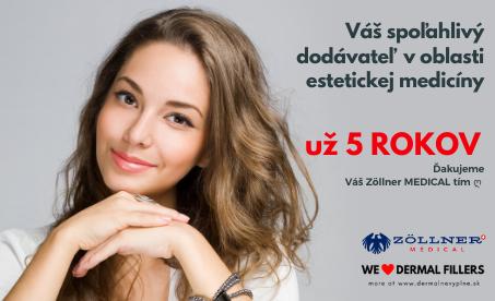 Už 5 rokov s Vami │ DermalneVyplne.sk