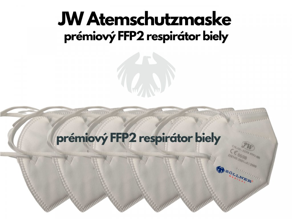 FFP2 White single│Zöllner Medical