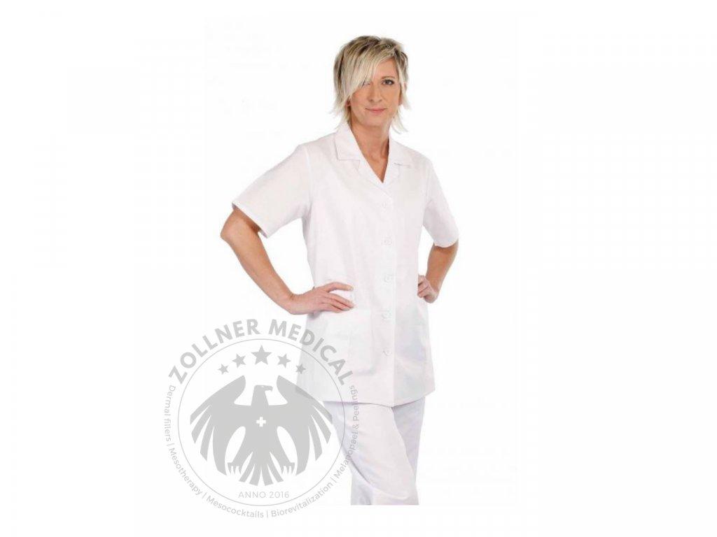 Dámska pracovná košeľa s krátkym rukávom│Zöllner Medical