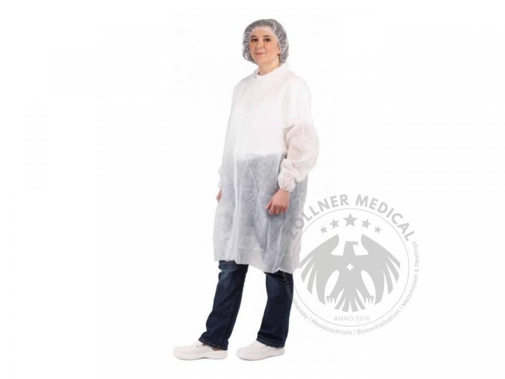 Jednorázový návštevnícky zdravotnícky plášť│Zöllner Medical