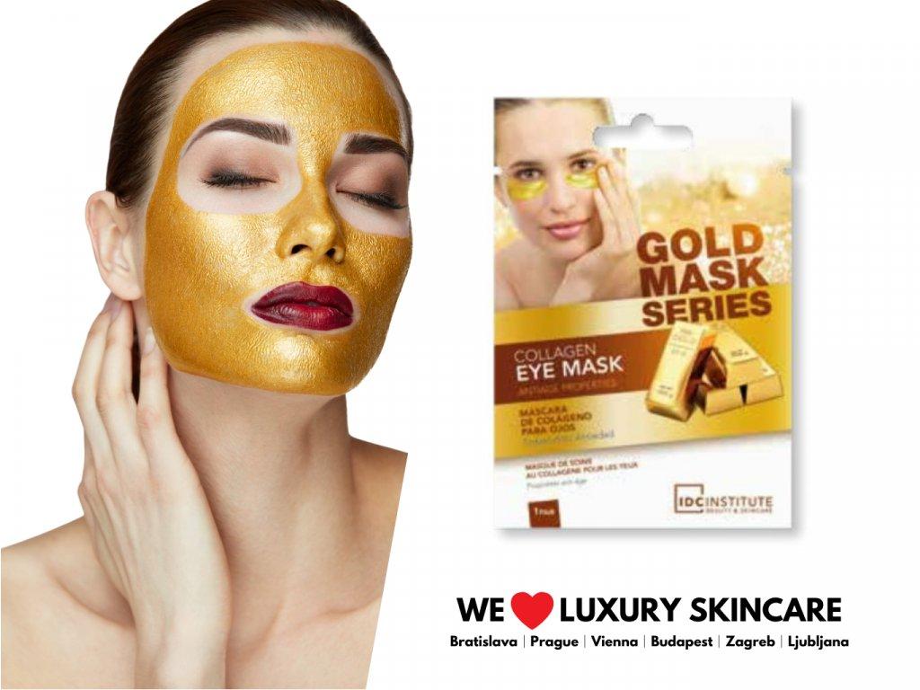 Kolagénová zlatá maska na oči