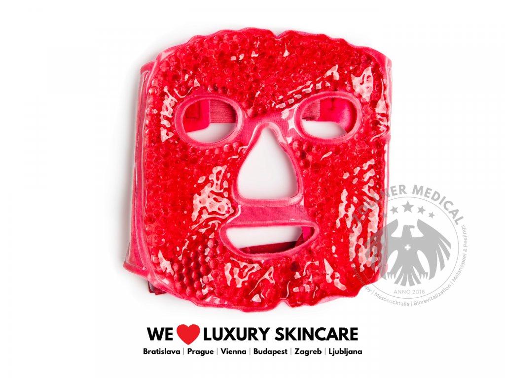 Maska na tvár│Chladivá alebo hrejivá červená│Zöllner Medical│DermalneVyplne.sk