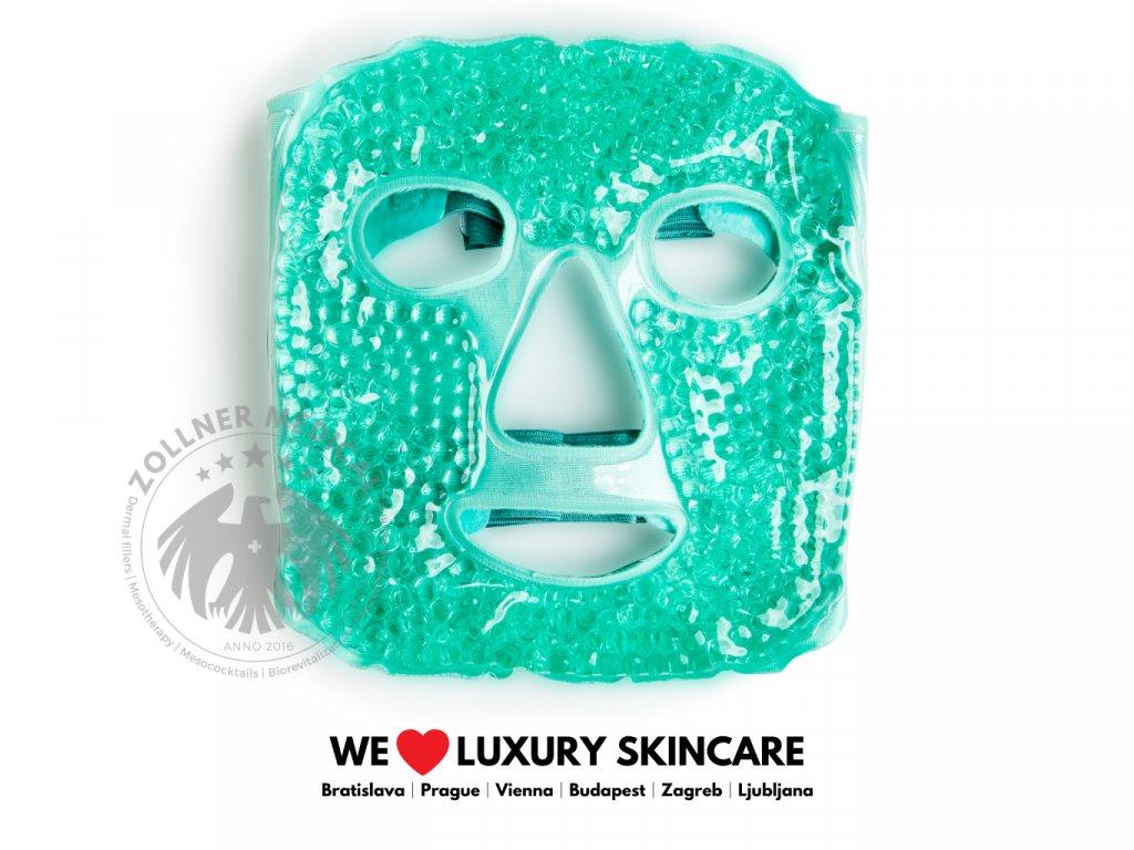 Maska na tvár│Chladivá alebo hrejivá zelená│Zöllner Medical│DermalneVyplne.sk