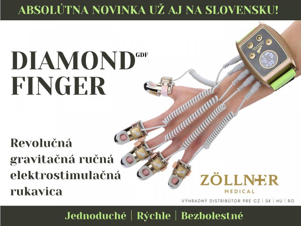 Gravitačná ručná elektrostimulačná rukavica na tvár a telo
