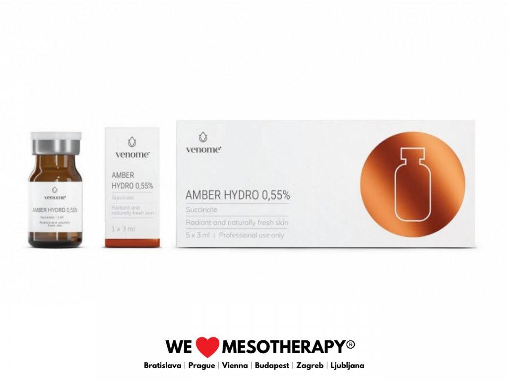 Venome Amber Hydro 5x3ml│Super Revitalizácia