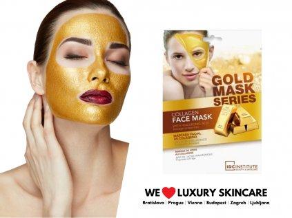 Kolagénová zlatá maska s kyselinou Hyalurónovou
