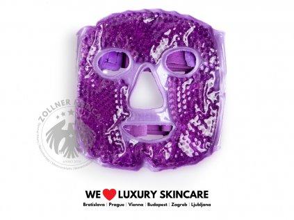 Maska na tvár│Chladivá alebo hrejivá fialová│Zöllner Medical│DermalneVyplne.sk