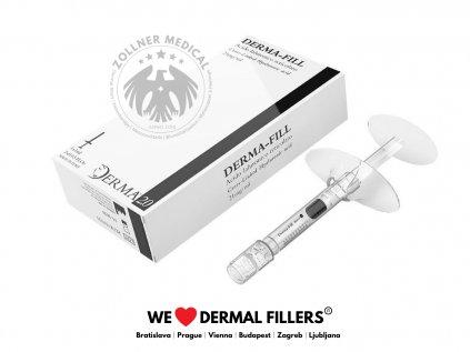 Derma Fill®│DermalneVyplne pre Hyluron Pen│Zöllner Medical