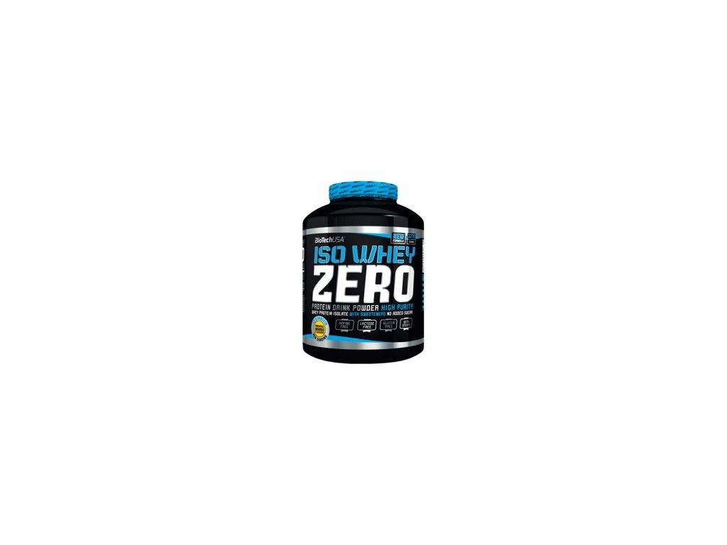 premiovy srvatkovy izolat bez laktozy a glutenu s pridanymi aminokyselinami iso whey zero biotech usa 2270 g detail