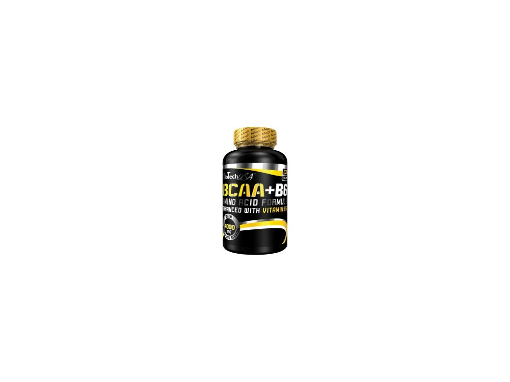 bcaa obohatene o vitamin b6 bcaa b6 biotech usa 100 tbl detail