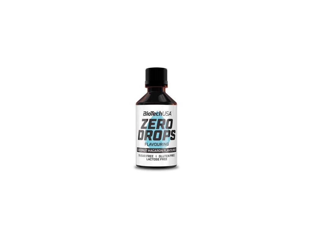 Biotech USA Ochucovacie kvapky Zero Drops 50 ml