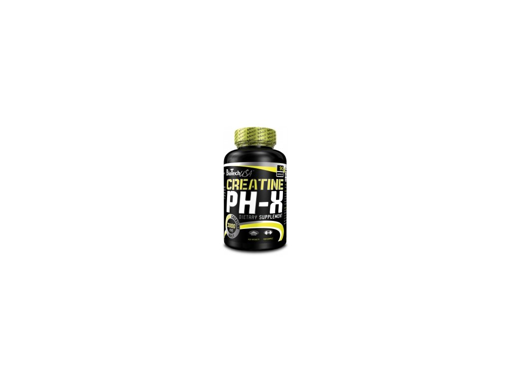 BioTech USA Creatine pH-X 90 kaps