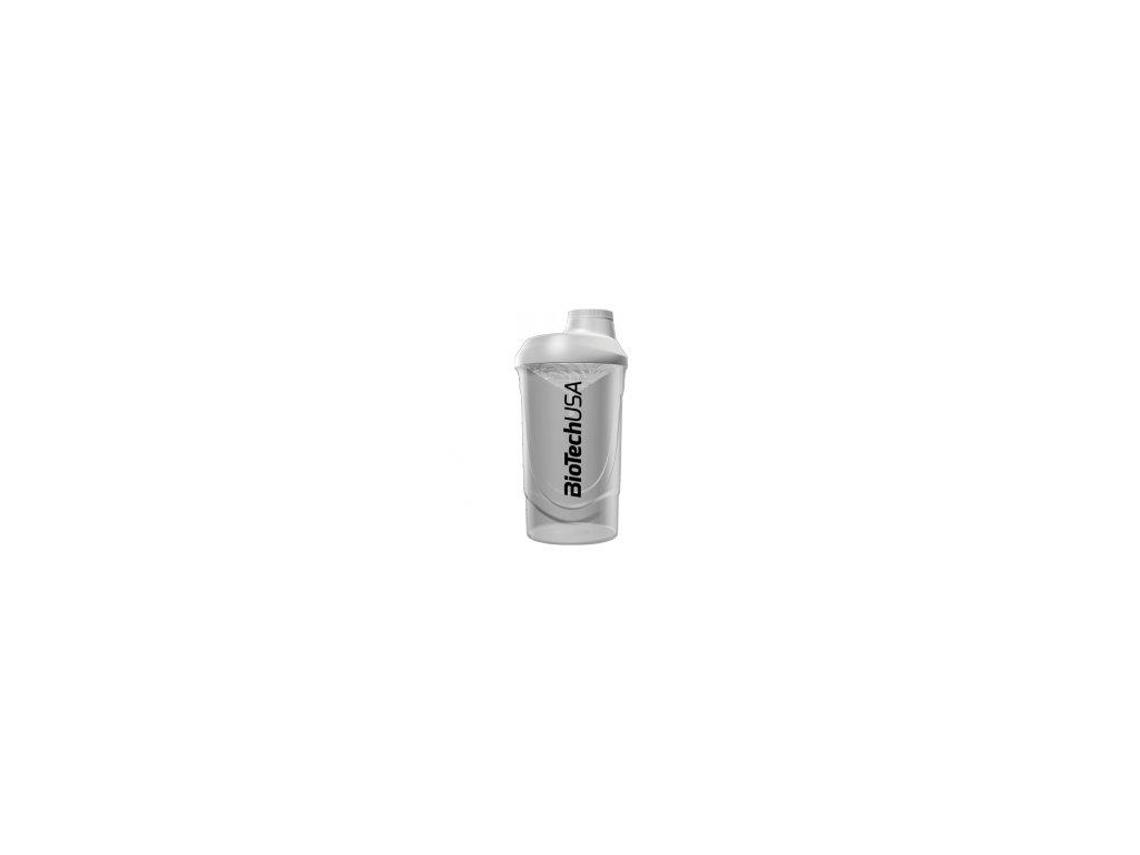 BioTech USA Šejker Wave biely - 600 ml