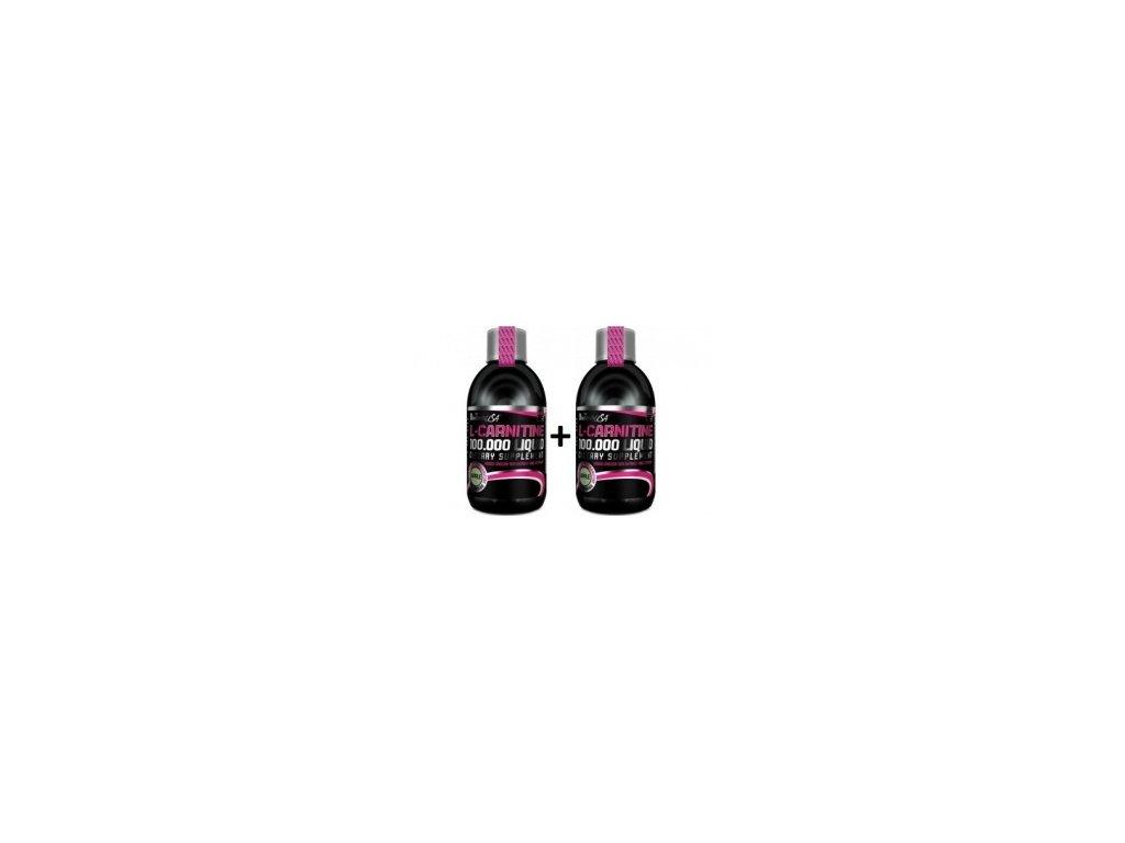 Biotech USA L-Carnitine 100.000 Liquid - 2 x 500 ml