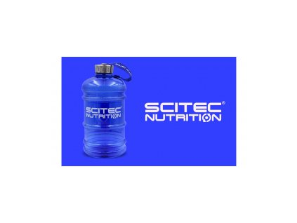 scitec water jug blue
