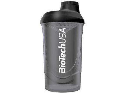 BioTech USA Šejker Wave dymový priesvitný - 600 ml