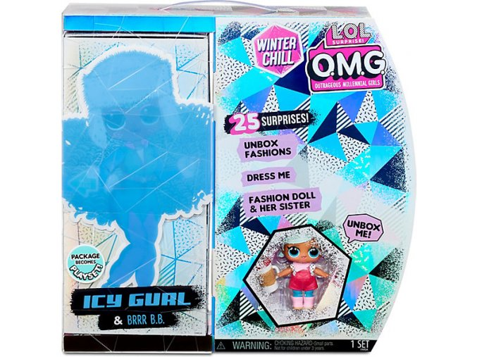 L.O.L. Surprise OMG Winter Chill Icy Gurl