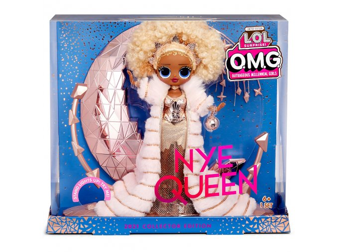 LOL SURPRISE OMG HOLIDAY NYE QUEEN 2021