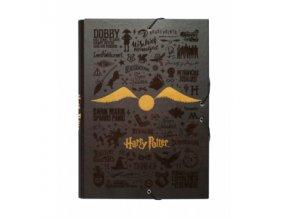 HARRY POTTER DESKY A4