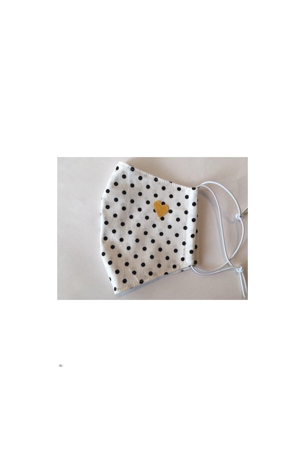Dámská rouška, ústenka s možností vložení filtru