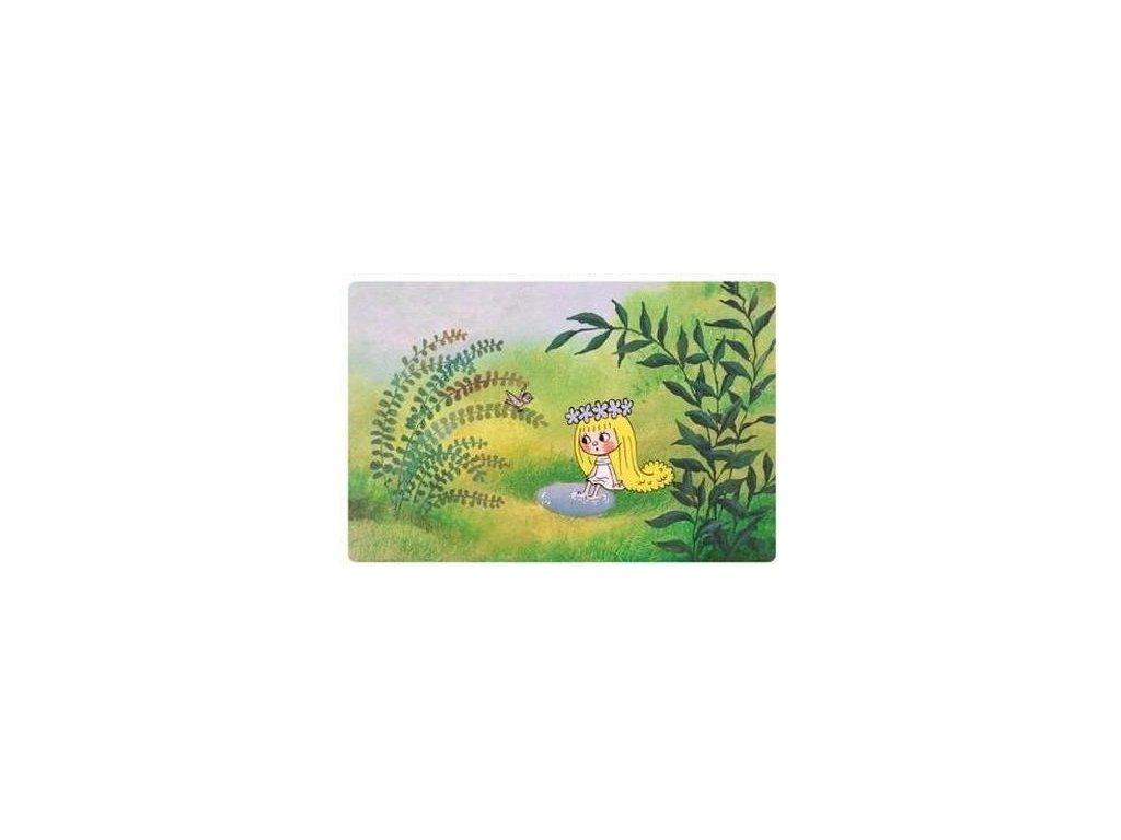Prostírání dětské víla Amálka, studánka, 28x43 cm -Dakls