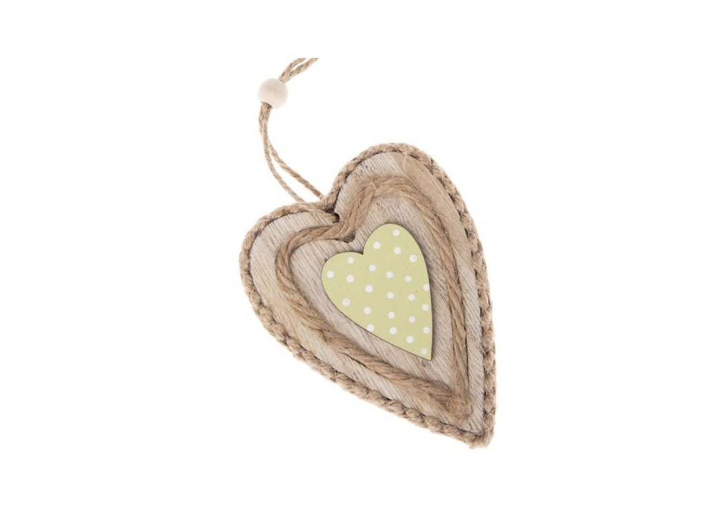 Závěsné srdce -Dakls