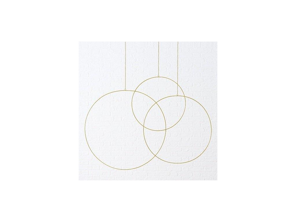 Kruhy zlaté 3Ks - Kolouch Import