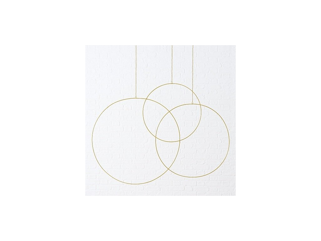 Kruhy zlaté 3Ks