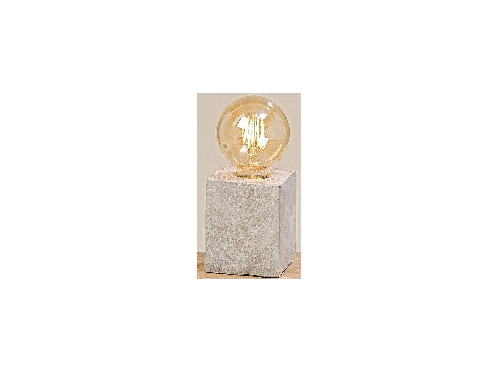 Stolní betonová lampa - Kolouch Import