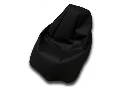 Sedací vak hruška černá Pepe, 85x65cm