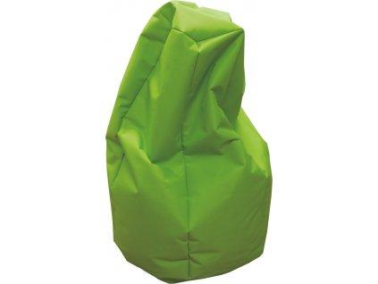 Sedací vak hruška neonově zelená Design-domov, 85x65cm