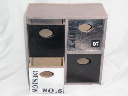 Skříňka se šuplíky -Dakls
