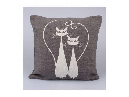 Návlek na polštář kočky -Dakls
