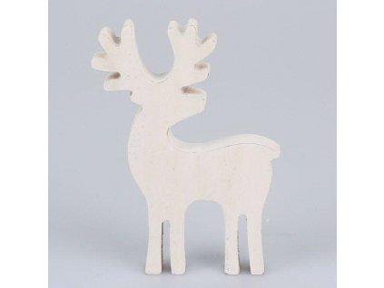 Dřevěný jelen-Dakls